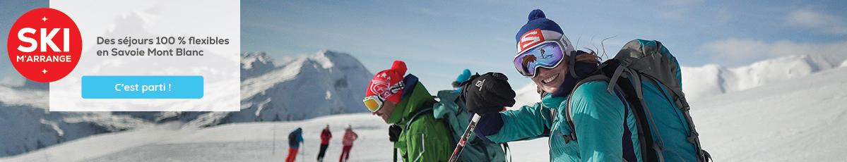Baniere ski m'arrange