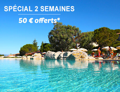 Spécial 2 semaines : 50€ offerts