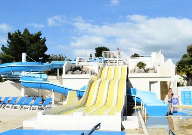 Mobil-home 4 pers. proche plage